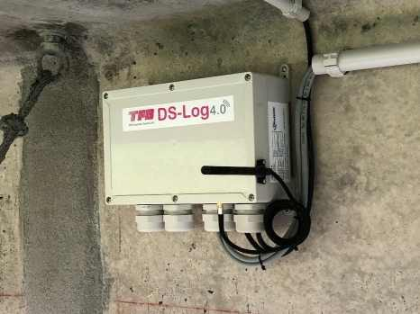 DS-Log4.0 on a bridge girder